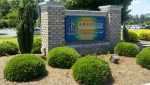 abc pediatrics front sign when you arrive