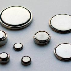 button disk batteries