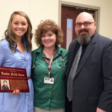 Taylor Faith Aman is the 2016 recipient of The Susan A. Ryals Memorial Scholarship Award