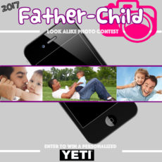 2017 Father Child Look Alike Photo Contest